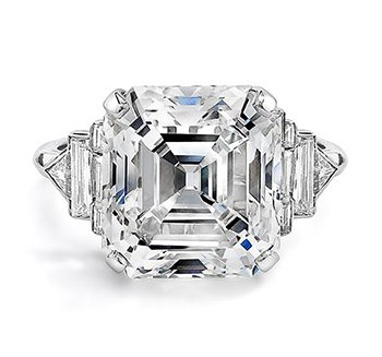 youtube diamond ring royal engagement watch asscher