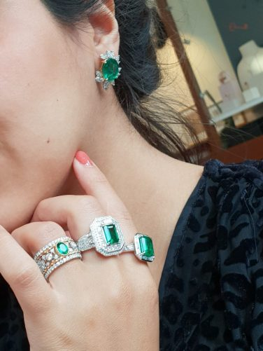 ringen smaragd