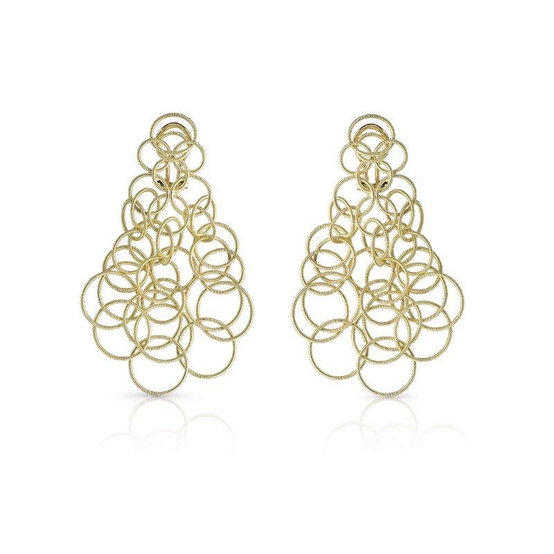 Buccellati Hawaii Earrings 18kt yellow gold