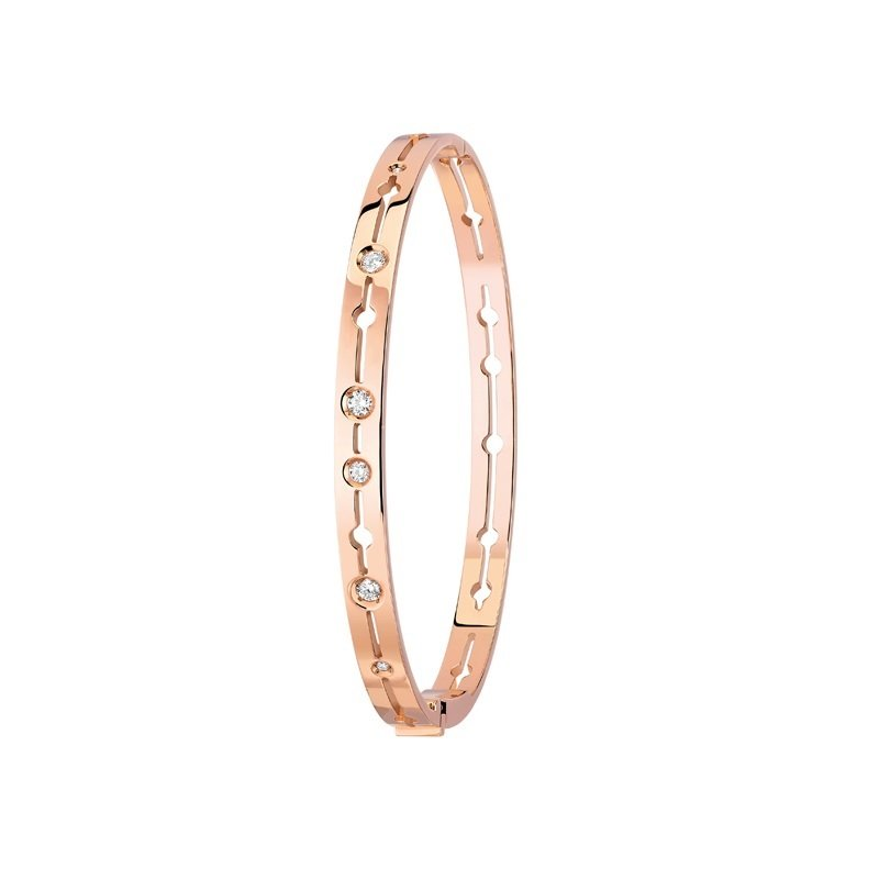 dinh van Pulse Bangle 18kt rosegoud