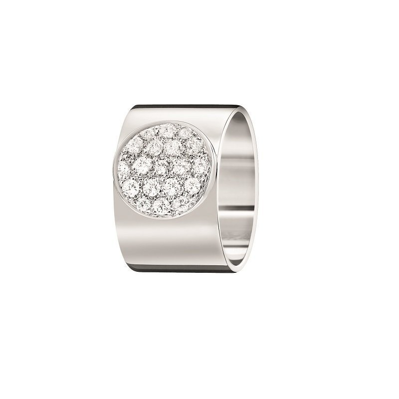 dinh van Anthea ring 18kt white gold and diamonds