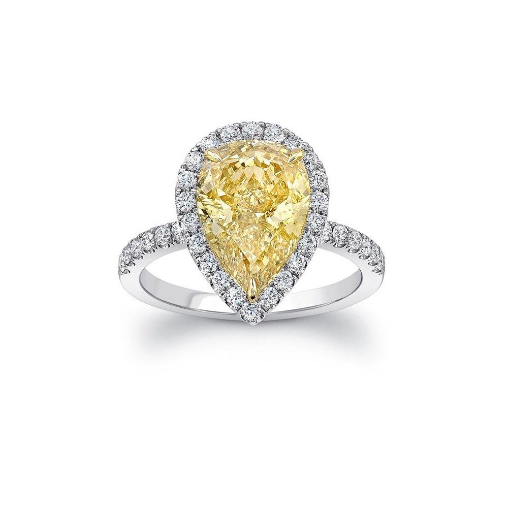 gekleurde diamant