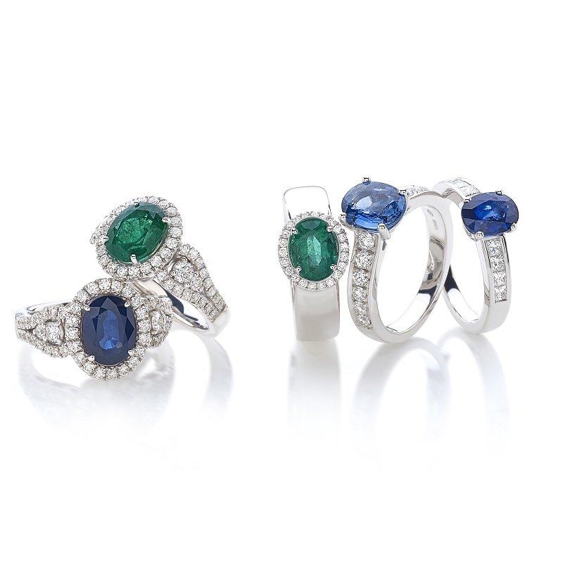 sapphire emerald diamond