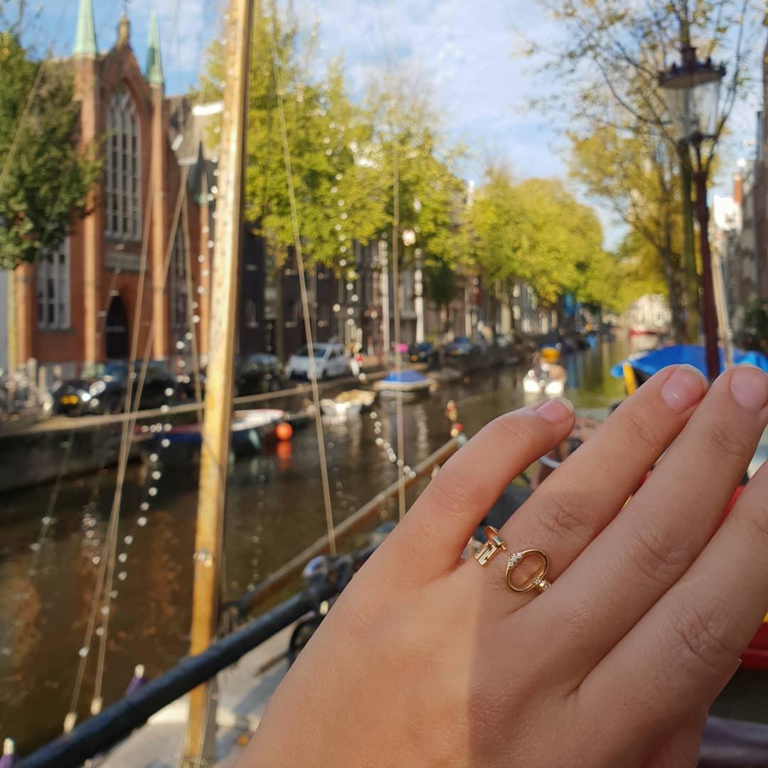 key amsterdam ring gold