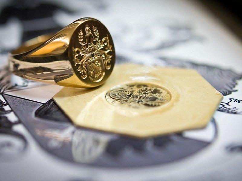 gouden zegelring amsterdam